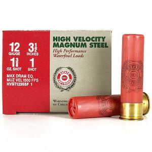"Estate Cartridge 12 Ga 3.5"" #1 Steel 1.375oz 250 Rounds"