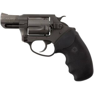 """Charter Arms Undercover Revolver .38 Special +P 2"""" Barrel 5 Rounds Fixed Sights Rubber Grips Nitride Finish 63820"""