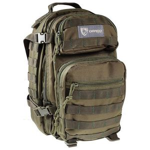 """DRAGO Gear Scout Backpack 16""""x10""""x10"""" 600D Polyester Green 14-305GR"""