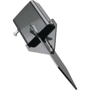 "Champion Targets 2""x4"" Steel Ground Stake Black"