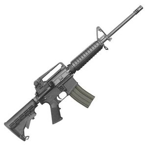 """Bushmaster AR-15 A3 Semi Auto Rifle .223 Rem/5.56 NATO 16"""" Heavy Barrel 30 Rounds Adjustable Stock with Reomovable Carry Handle Black Finish 90280"""