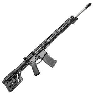 "POF USA Renegade Plus SPR Semi Auto Rifle .224 Valkyrie 20"" Barrel 20 Rounds Direct Gas Impingement System M-LOK Rail Luth-AR MBA Stock Matte Black Finish"