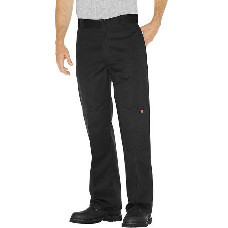 Dickies Men's Loose Fit Double Knee Work Pants 40x30 Black