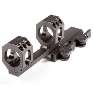 American Defense Mfg. Recon 30mm Scope Mount with QD Lever 6061 T6 Aluminum Black AD-RECON-X-30