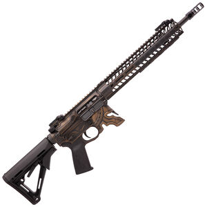 "Spikes Rare Breed Spartan AR-15 Semi Auto Rifle 5.56 NATO 16"" Barrel Milled Spartan Helmet Lower 12"" M-LOK Handguard Collapsible Stock Bronze Battle Worn Finish"