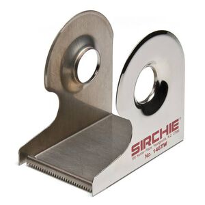 """Sirchie Tape Dispenser for 2"""" Lifting Tape Nickel Plated Steel 146TW"""