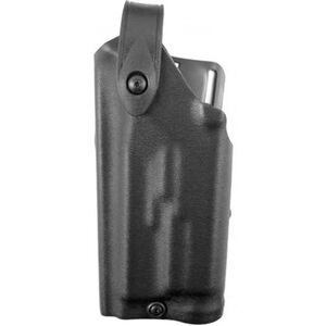 Safariland 6280 SLS Level II Retention Duty Holster Mid Ride Left Hand GLOCK 17 and 22 with Light, STX Tactical Black 6280-8321-132