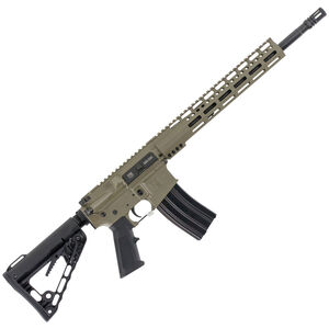 "Diamondback Firearms DB15CCK AR-15 Semi Auto Rifle .300 Blackout 30 Rounds 16"" Barrel M-LOK Handguard Collapsible Stock FDE"