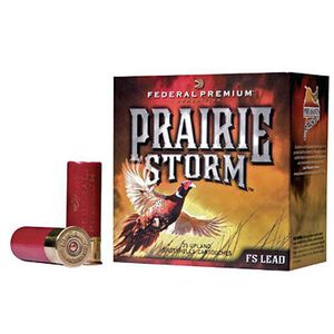 "Federal Prairie Storm 20 Gauge Ammunition 250 Rounds 3"" #4 FS Plated 1-1/4oz 1300fps"