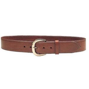 "Galco Gunleather SB2 Sport Belt 1.5"" Wide Brass Buckle Leather Size 40 Havana Brown"