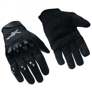 Wiley X Duratac All Purpose Gloves Synthetic Leather Palm XL Black G400 XL