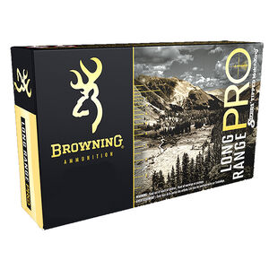 Browning LRP .308 Winchester Ammunition 20 Rounds Sierra Tipped MatchKing Projectile 168 Grains 2680 fps