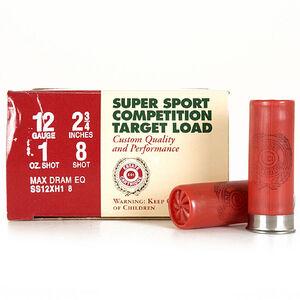 """Estate Super Sport 12 Ga 2.75"""" #8 Lead 1oz 250 Rounds"""