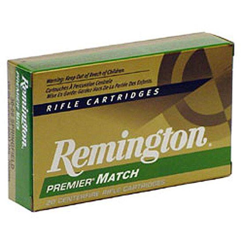Remington Premier Match 6.8 Remington SPC Ammunition 20 Rounds 115 Grain Sierra MatchKing Boat Tail Hollow Point Projectile 2625 fps