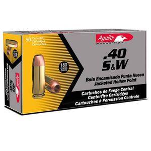 Aguila .40 S&W 180 Grain FMJ 50 Round Box 1050 fps
