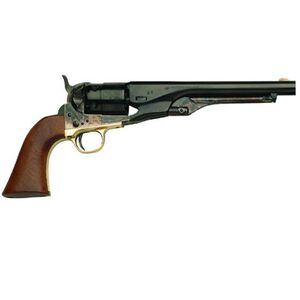 "Traditions 1860 Army Black Powder Revolver .44 Caliber 8"" Blued Barrel Case Hardened Frame Walnut Grips FR18602"