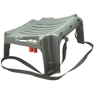 Sportsman's Rump Rester Hunting Seat Shotshell and Fishing Rod Holders Forest Green
