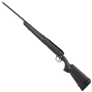 "Savage Axis II Left Hand Bolt Action Rifle .243 Winchester 22"" Sporter Profile Barrel 4 Rounds Detachable Box Magazine AccuTrigger Synthetic Stock Matte Black Finish"