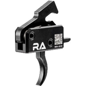 Rise Armament LE145 Tactical Trigger Single Stage 4.5 lb Pull One Piece Drop-In Design Black