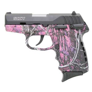 """SCCY CPX-2 Semi Auto Pistol 9mm Luger 3.1"""" Barrel 10 Rounds Polymer Frame Muddy Girl/Black CPX-2CBMG"""