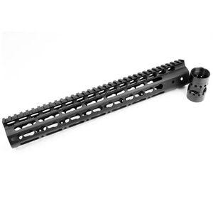 """Noveske NSR AR-15 13.5"""" Free Float KeyMod Rail 1913 Picatinny Continuous Top Rail Aluminum Hard Coat Anodized Matte Black NSR-13.5"""