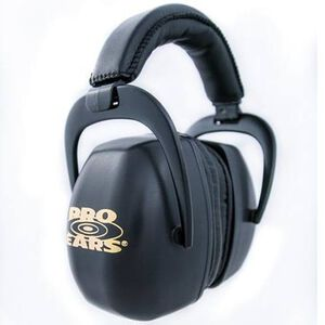 Pro Ears Passive Hearing Protection Black PEUPB