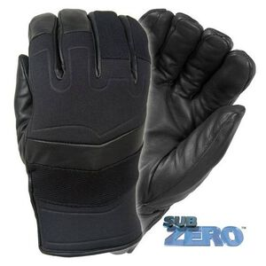 Damascus Protective Gear Subzero Maximum Warmth Winter Gloves Leather Spandura Black