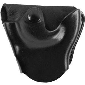 DeSantis Handcuff Case For S&W 100 Handcuffs Leather Black A04BJG1Z0