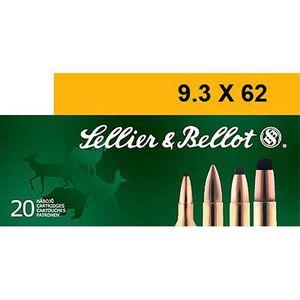 Sellier & Bellot 9.3x62 Ammunition 20 Rounds 285 Grain Soft Point Projectile 2,313fps