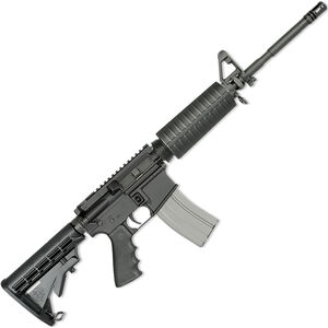 "Rock River LAR-15 Entry Tactical 5.56 NATO AR-15 Semi Auto Rifle 16"" Chrome Lined R-4 Profile Barrel 30 Rounds A4 Style Handguard Collapsible Stock Black Finish"