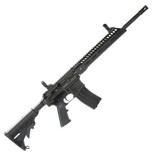 "Diamondhead Model 4 5.56 NATO AR-15 Semi Auto Rifle 16"" Barrel 30 Rounds VRS T-556 Fee Float M-LOK Hand Guard Collapsible Stock Matte Black"