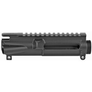 Grey Ghost Precision Stripped AR-15 Forged Upper Receiver 7075-T6 Aluminum Hard Coat Anodized Matte Black