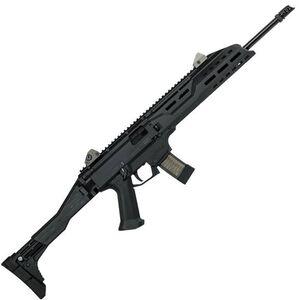 "CZ Scorpion EVO 3 S1 Carbine Semi Auto Rifle 9mm Luger 16.2"" Barrel 20 Rounds Collapsible/Folding Stock Polymer Frame Matte Black Finish"