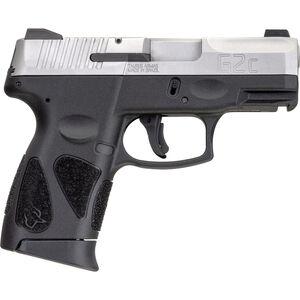"Taurus G2C 9mm Luger Semi Auto Pistol 3.20"" Barrel 12 Rounds SNight Sights Polymer Frame Two Tone Finish"
