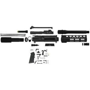 """TacFire AR-15 Complete Pistol Build Kit .45 ACP 7.5"""" Barrel Lower Parts Kit Matte Black Finish"""