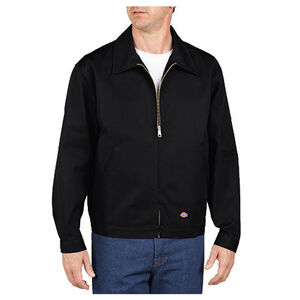 Dickies Men's Unlined Eisenhower Twill Jacket Extra Large Regular Black JT75BK