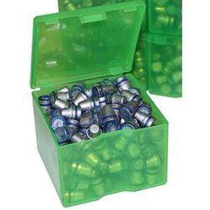 MTM Case-Gard Cast Bullet Box Polymer Clear Green Cast1-16