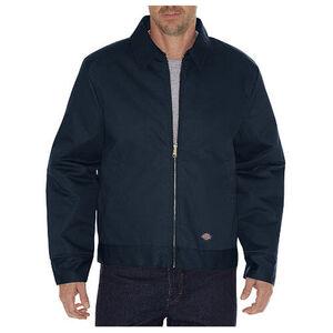 Dickies Men's Insulated Eisenhower Twill Jacket Large Regular Dark Navy TJ15DN