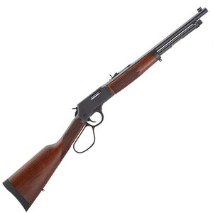 "Henry Big Boy Steel Carbine Lever Action Rifle .327 Federal Mag 16.5"" Round Barrel 7 Rounds Steel Receiver Large Loop Lever American Walnut Stock Blued Barrel"