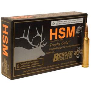 HSM Trophy .240 WBY Mag 95 Grain VLD BTHP 20 Rnd Box