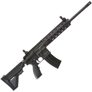 "H&K MR556A1 Semi Auto Rifle 5.56 NATO 16.5"" Barrel 30 Rounds H&K Free Float Modular Rail System Two Stage Trigger Collapsible Stock Black Finish MR556-A1"