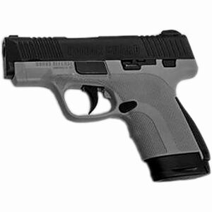 """Honor Guard Sub-Compact 9mm Luger Semi Auto Pistol 3.2"""" Barrel 7 Rounds Manual Safety Polymer Battleship Gray"""