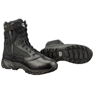 "Original S.W.A.T. Chase 9"" Tactical Side Zip Boot Nylon/Leather Size 8.5 Regular Black 1312-BLK-08.5"