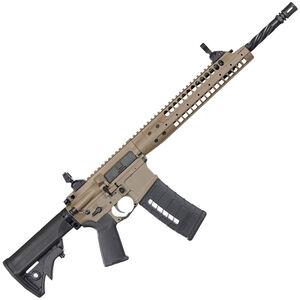 "LWRC Six8 A5 AR-15 Semi Auto Rifle 6.8mm SPC 16"" Barrel Gas Piston LWRC Flash Hider Modular Rail Compact Stock Skirmish Sights Flat Dark Earth SIX8A5RCK16"