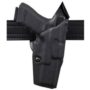 """Safariland 6390 1911 5"""" with Surefire Light Mid Ride ALS Duty Holster Level 1 Right Hand STX Tactical Black 6390-560-131"""