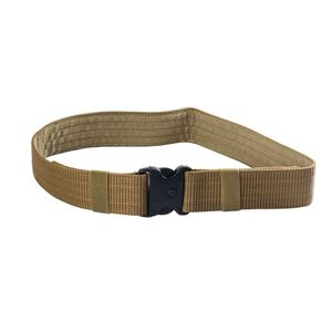 """JE Machine Accessories Belt with 3 Button Snap Buckle 34"""" x 2"""" Tan"""