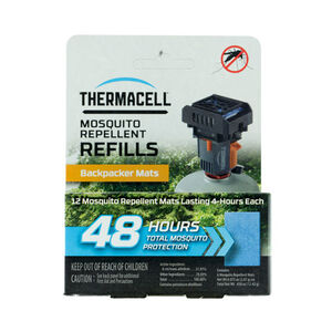 Thermacell Refill Mats for Backpacker System 12 Mats