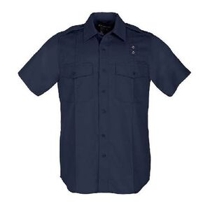 5.11 Tactical Women's Class A Taclite PDU Short Sleeve Shirt Polyester Medium/Regular Midnight Navy 61167