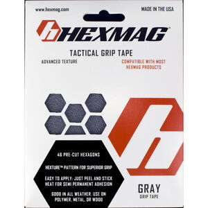 Hexmag AR-15 Grip Tape 46 Hex Shapes Gray HXGT-GRY