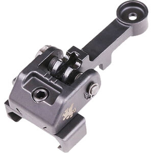 Griffin Armament M2 Sight Rear AR-15 A2 Compatible Modular Rear Sight 17-4 Ordnance Steel Black